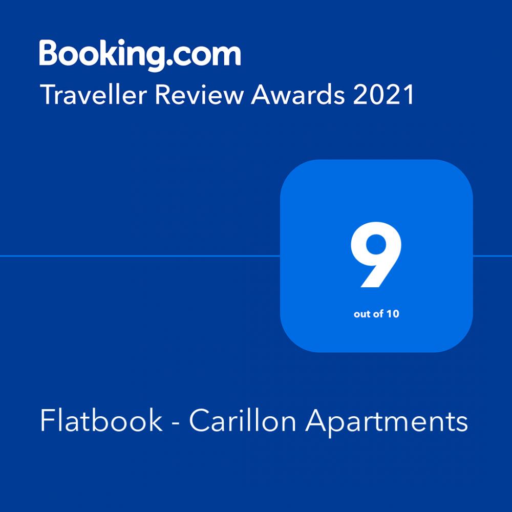 Flatbook Apartments Gdańsk - booking award 3