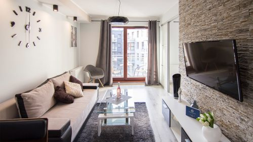 Apartament nr 11 z 1 sypialnią i balkonem